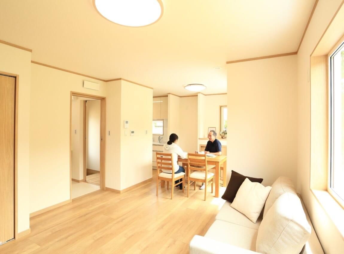 自然の光を愉しむ平屋+ロフトの家